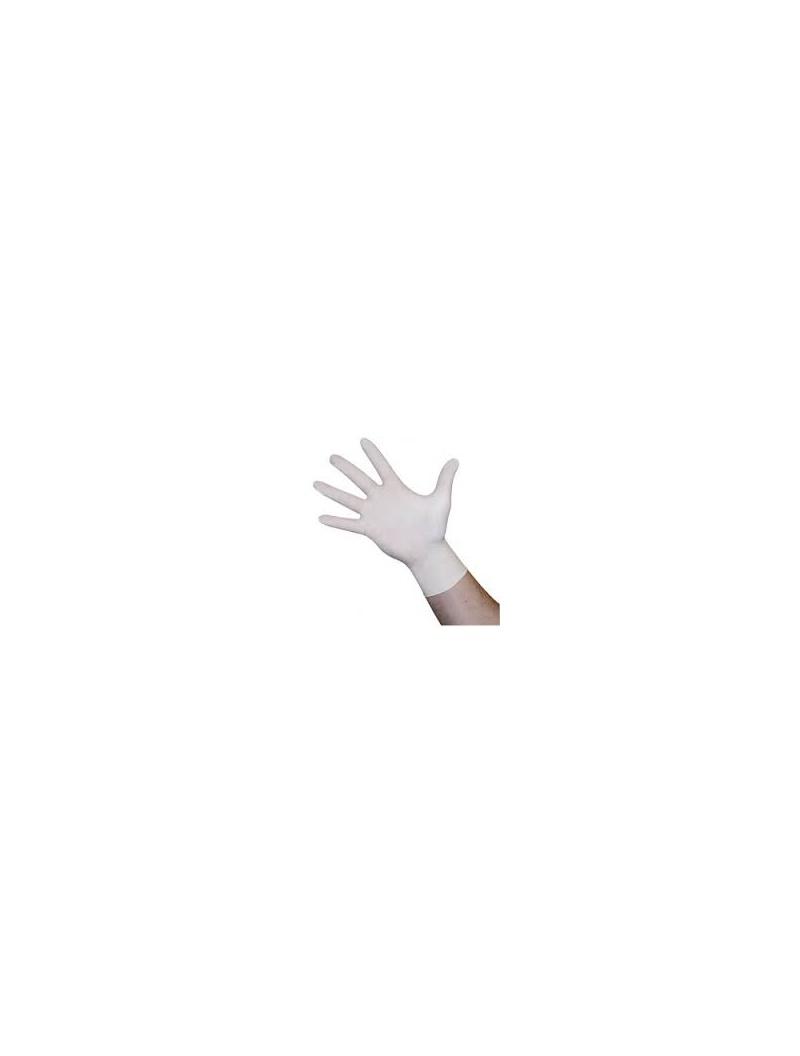 e8e3540034e Rukavice latexové nepudrové bílé 100 ks velikost M
